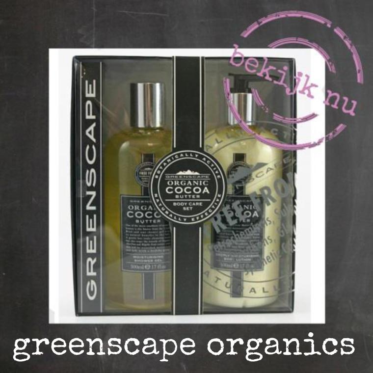 Biologische huidverzorging - Greenscape Organics